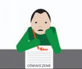 Osoba podpisuje oświadczenie o odstąpieniu od umowy.