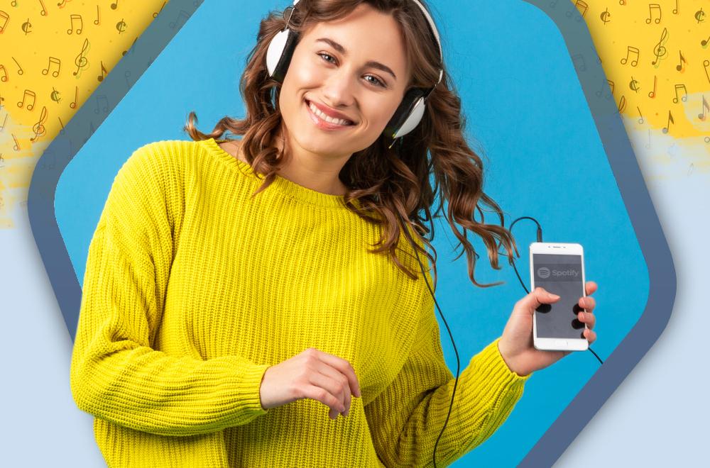 Muzyka na każdą okazję. Darmowy streaming muzyki na przykładzie Spotify.