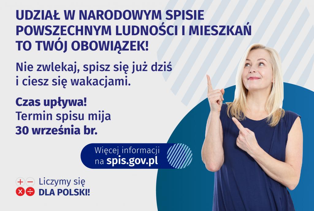 Liczymy się dla Polski – czym jest Narodowy Spis Powszechny?
