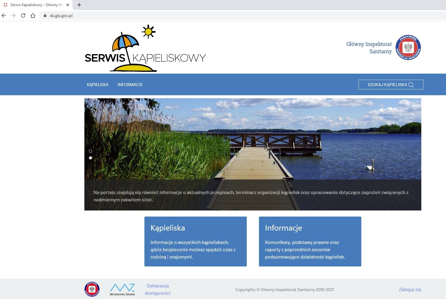 WIDEO: Bezpieczeństwo nad wodą i Internetowy Serwis Kąpieliskowy