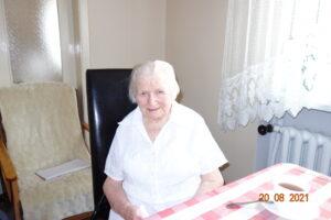 Na zdjęciu znajduje się Pani Anna Wielicka.